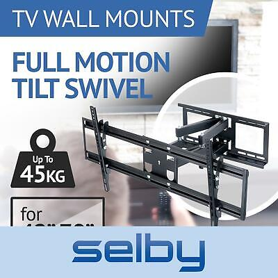 AU59 • Buy TV Bracket Wall Mount Swivel 42 47 48 49 50 55 60 65 70 Inch Full Motion LCD LED