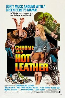 $ CDN20.34 • Buy Chrome And Hot Leather Movie Poster 24x36