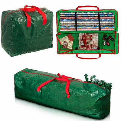 Storage Bag For Christmas Xmas Tree Or Decoration Lights Zip Up Sack 7ft Trees • 9.99£