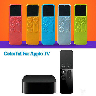 AU4.43 • Buy Protective Dustproof Case Silicone Cover For Apple TV 4 Remote Control Holder EX