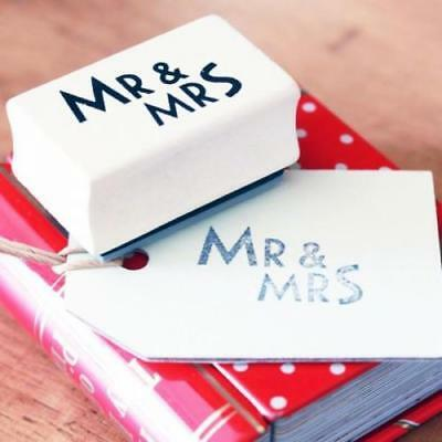 East Of India Mr & Mrs Rubber Stamp 3767 EOI • 4.59£