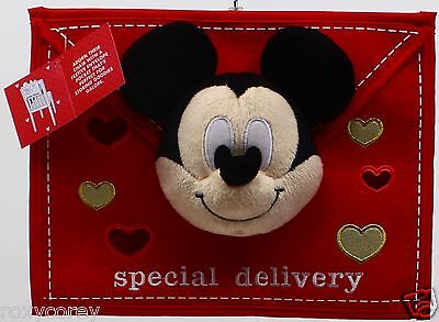£29.15 • Buy Disney's Mickey Mouse Special Delivery Valentine's Day Chair Cover Decor 12x3x9