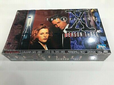 AU75 • Buy Entertainment Cards Box: The X-Files Season 3 Trading Card Box (36) (Topps)