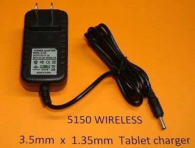 🔌 3.5mm 2A Replacement Wall Charger Archos Arnova 9 G3 9G3 AN9G3 Android Tablet • 10.73£