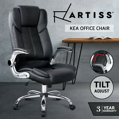 AU149.95 • Buy Artiss Gaming Office Chair Executive Computer Chairs PU Leather Seating Black