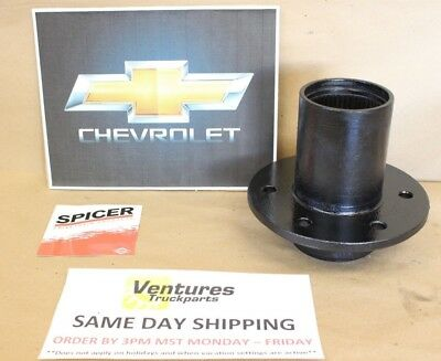 $46.85 • Buy WHEEL HUB FRONT CHEVY GM DANA 44 OR 10 BOLT LARGE BEARING SPINDLE STYLE 6 On 5.5