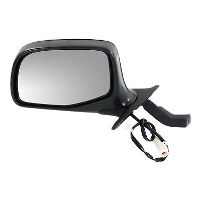 $36.06 • Buy Power Mirror For 1992-1996 Ford F-150 Front Left Chrome Black Base Manual Fold
