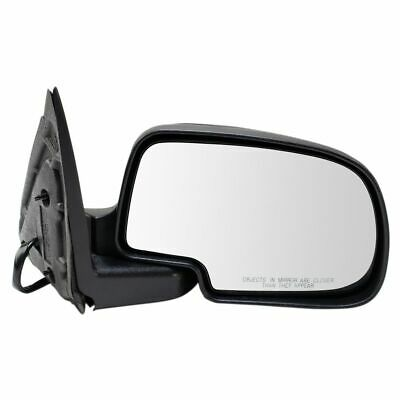 $47.33 • Buy Side View Mirror Power Heated Smooth Black W/ Puddle Passenger RH For Chevy GMC