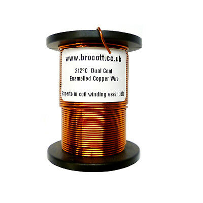 £12.35 • Buy ENAMELLED COPPER WIRE, MAGNET WIRE, COIL WIRE 1.00mm To 2.00mm / 100g To 1.5kg