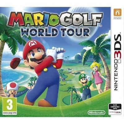 AU33.28 • Buy Mario Golf World Tour 3DS 2DS New And Sealed