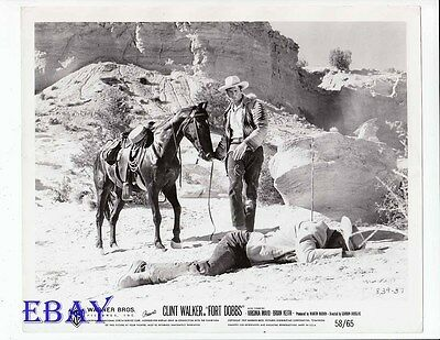 $42 • Buy Clint Walker Fort Dobby VINTAGE Photo