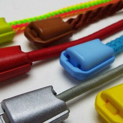 £3 • Buy 20 COLOUR Cord Toggle End Stop Snap Lock. Coat Anorak Hoodie Lace Jacket Large