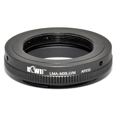 $34.67 • Buy Adapter Mount Ring For Leica M39 Lens To Camera Canon EOS EF-M Mirrorless