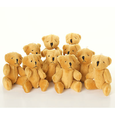 £3.95 • Buy NEW - Brown Teddy Bears - Small Cute And Cuddly  - Gift Present Birthday Xmas