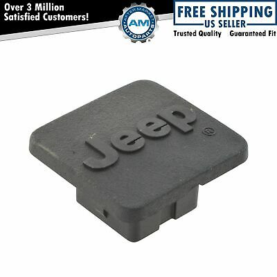 $21.25 • Buy OEM 82208457 Trailer Hitch Receiver Plug Cap Cover W/ Logo 1-1/4 Inch For Jeep