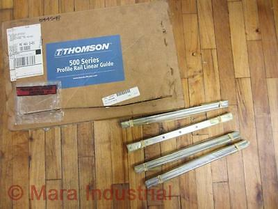 $211.77 • Buy Thomson Industries 544549 Rail Linear Guide (Pack Of 4)