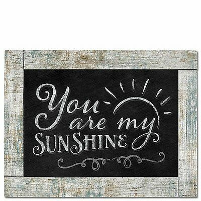 Chalk It Up Framed Wood Sign---You Are My Sunshine---Large Plaque • 14.23£
