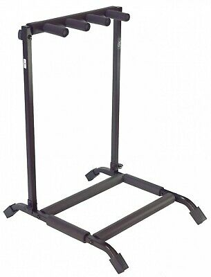 $ CDN74 • Buy Gk Gsa3000 Premium 3 Guitar Stand - Great For Acoustic Or Electric Guitars