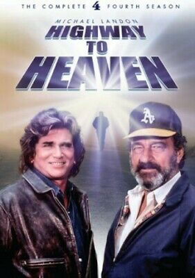 Highway To Heaven: The Complete Fourth Season - 5 DISC  (2014, REGION 1 DVD New) • 9.56£