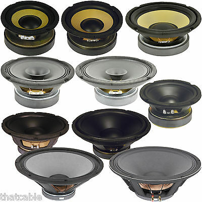 £26.99 • Buy Quality Speaker Woofers & Hi-Fi Cones -Voice/Audio/Music Coils- Replacement Bass