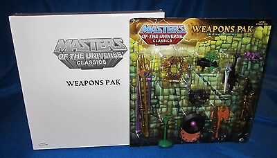 $42.95 • Buy Masters Of The Universe Classics Great Wars Assortment Weapons Pak 5960 NEW