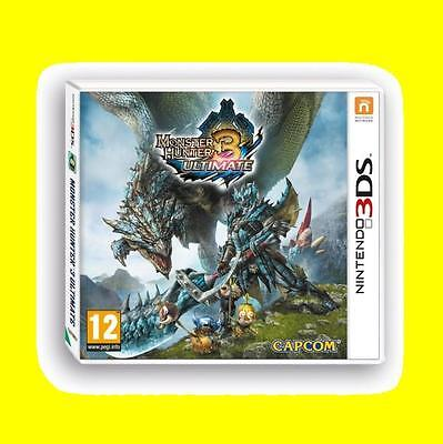AU68.80 • Buy Monster Hunter 3 Ultimate Game 3DS Nintendo 3DS And 3DS XL Brand New