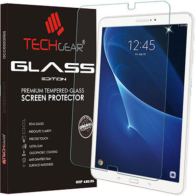 £6.95 • Buy TECHGEAR TEMPERED GLASS Screen Protector For Samsung Galaxy Tab A 10.1 (SM-T580)