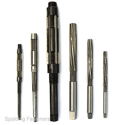 Metric & Imperial Hand Reamers & Adjustable Reamers All Sizes Engineering Tools  • 7.95£