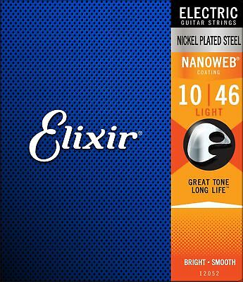 $ CDN21.99 • Buy Elixir Nanoweb Electric Guitar Strings - Light (.010 - .046)
