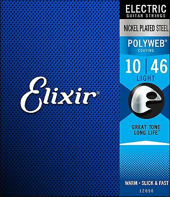 $ CDN21.99 • Buy Elixir Polyweb Electric Guitar Strings - Light (.010 - .046)