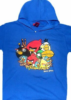 £19.16 • Buy Angry Birds Pullover Hoodie 14-16 XL 18 XXL New Childs Sweatshirt Blue