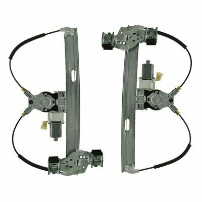 $97.68 • Buy Rear Power Window Regulators W/ Motors Pair Set For 04-08 Pontiac Grand Prix