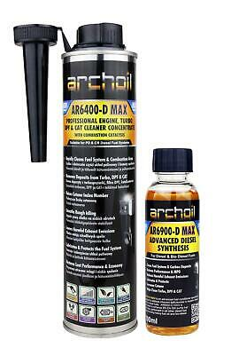 Archoil AR6400-D MAX Pro Diesel Engine, Turbo, DPF Cleaner 400ml • 23.95£
