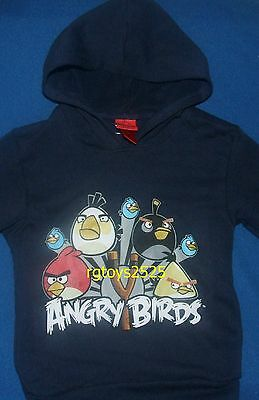 £15.61 • Buy Angry Birds Pullover Hoodie 10-12 L 14-16 XL 18 XXL New Childs Sweatshirt