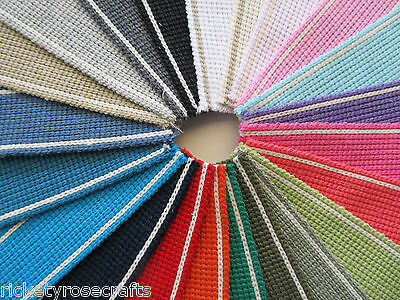 £1.95 • Buy COTTON MIX WEBBING 35mm Wide 2mm Thick Heavy METRE OR REEL Handles Belt Strap