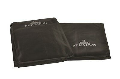 Peradon Black Fitted Snooker, Billiards Pool Table Dust Cover, 6 Sizes Available • 31.60£