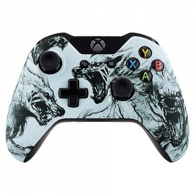 $13.38 • Buy Wolf Soul Front Housing Shell Faceplate Case Cover Part For Xbox One Controller