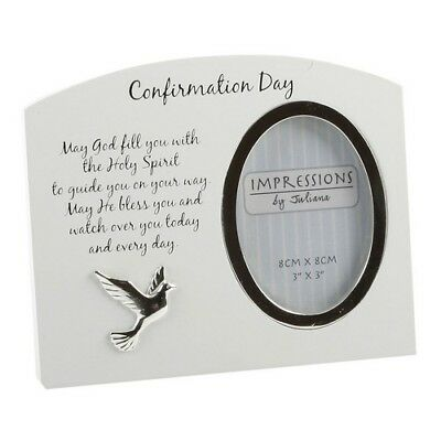 £6.95 • Buy Juliana Impressions Arched Photo Frame 3  X 4  - Confirmation Day