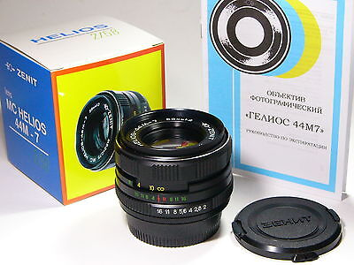 AU108.77 • Buy Helios-44m-7 2/58mm With Nikon-F Bayonet Lens.year Of Production: 1993 And Later