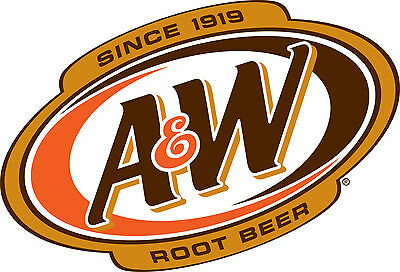 A&W ROOT BEER Vinyl Decal / Sticker ** 5 Sizes **   • 2.99£