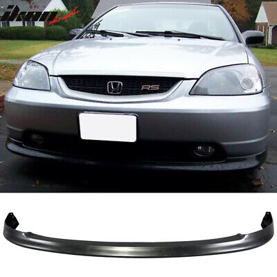 $59.90 • Buy Fits 01-03 Honda Civic OEM Factory Style Bumper Lip Spoiler - PP