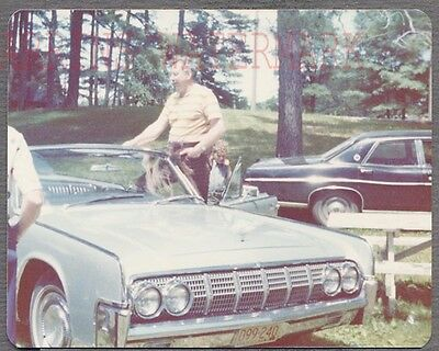 $4.99 • Buy Vintage Car Photo 1963 1964 Lincoln Continental Convertible Automobile 692660