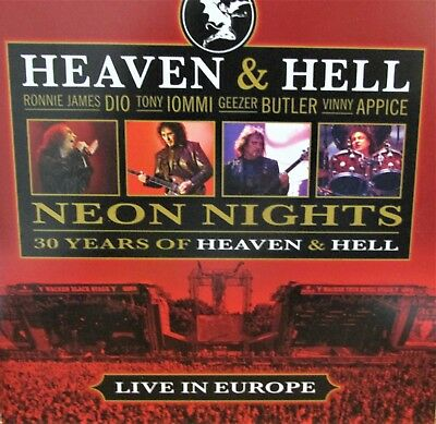 $7.88 • Buy Heaven&Hell Neon Lights Live CD NEW Music Europe Vinnie Appice,Dio,Ronnie James