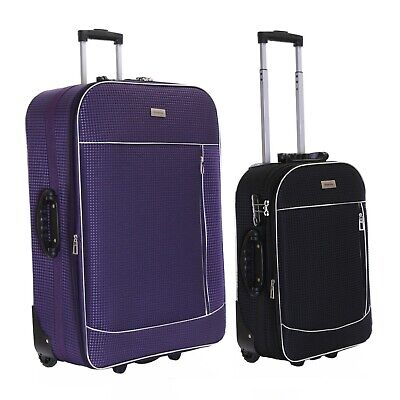 £14.99 • Buy Extra Large XL Small Cabin Expandable Wheeled Suitcase Luggage Trolley Case Bag
