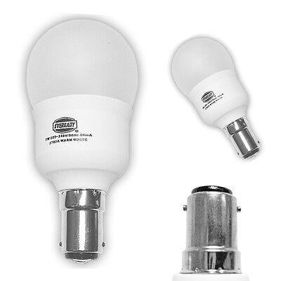 Low Energy Lamp 7w Small Bayonet Cap Fitting Mini Globe Light Bulb 35w B15 SBC  • 2.94£