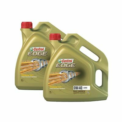 Castrol Edge FST 8 Litre 0W40 A3/B4 High Performance Fully Synthetic Car Oil • 76£
