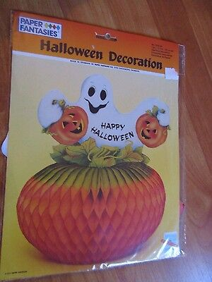 $ CDN23.34 • Buy 11  Halloween Centerpiece Decoration Vintage 1990 Paper Fantasies NOS Denmark