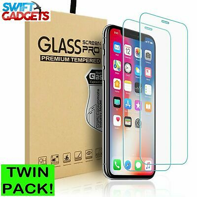 For Apple IPhone 7 Plus Tempered Glass Screen Protector - 100% Genuine • 1.99£