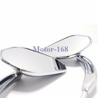 $39.35 • Buy Chrome Motorcycle Parts-rear View Mirrors For Harley Davidson Sportster 168 Moto
