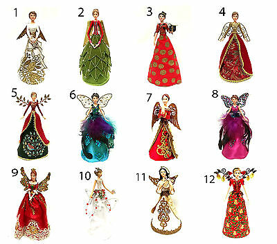 Gisela Graham Angel Fairy Christmas Tree Topper Decoration Gift • 13.95£